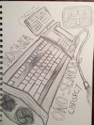 Hosaka Cyberdeck by MildMisanthropy