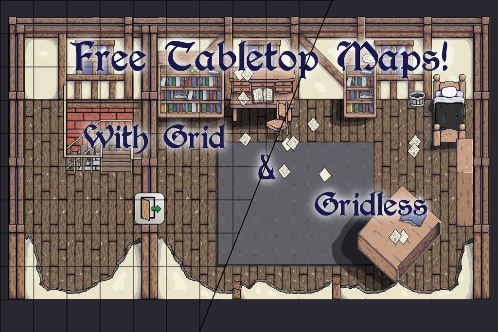 Free Virtual Tabletop Maps by MildMisanthropy