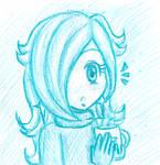 Monochrome Rosalina (Crayon)