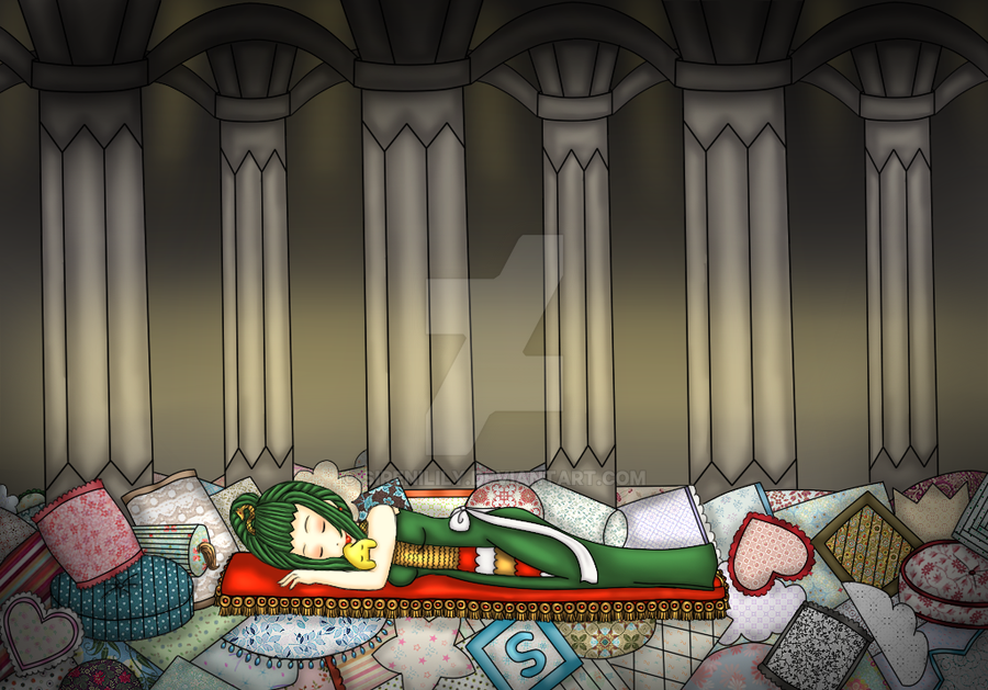 Comm - Snuug In The Pillow Cave by Juliana1121