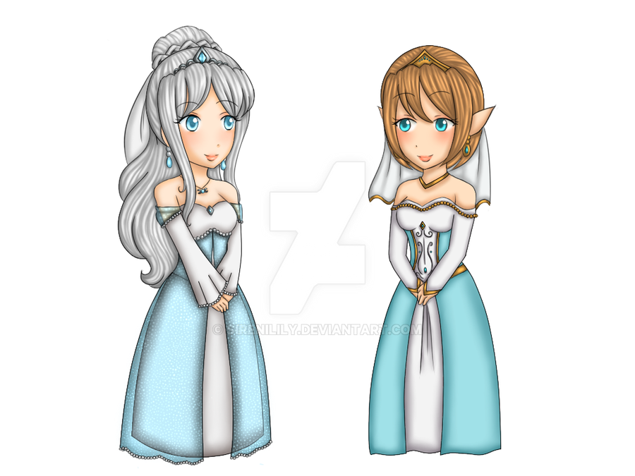 Comm - Wedding dresses for Keba and Gold by Juliana1121