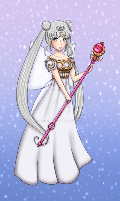 Day 1 - Neo Queen Serenity by Juliana1121