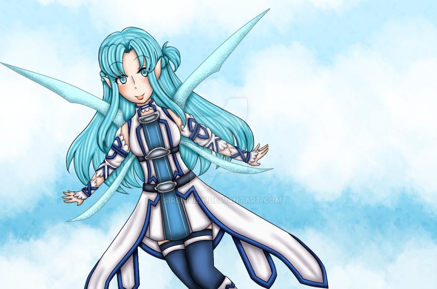 Day 3 - Asuna by Juliana1121