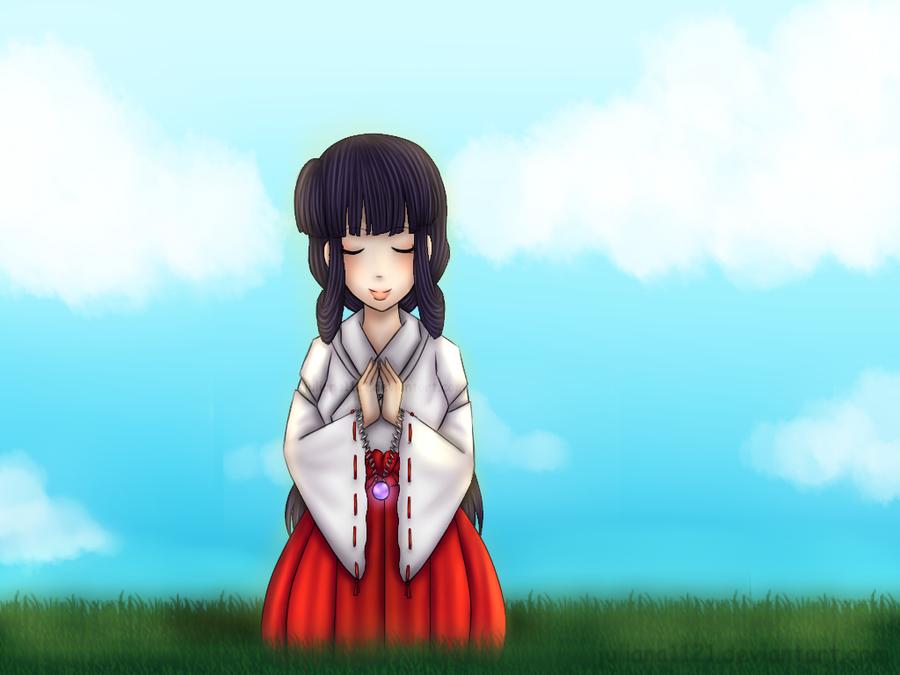 Day 5 - Kikyou by Juliana1121