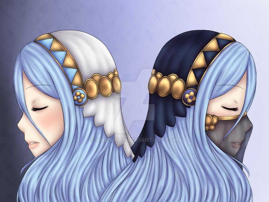 Aqua/Azura by Juliana1121