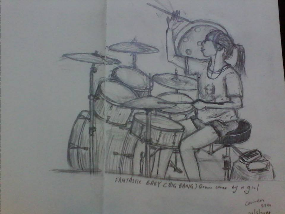 fantastic baby drum cover by a girl by IMstranger on DeviantArt