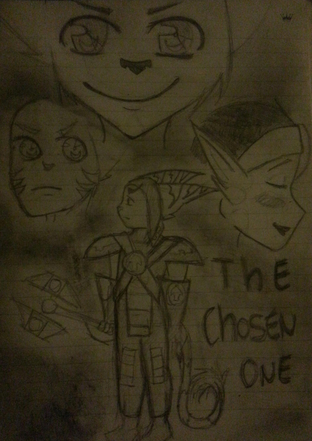 the chosen one (contest entry) by oOlombaxloverOo