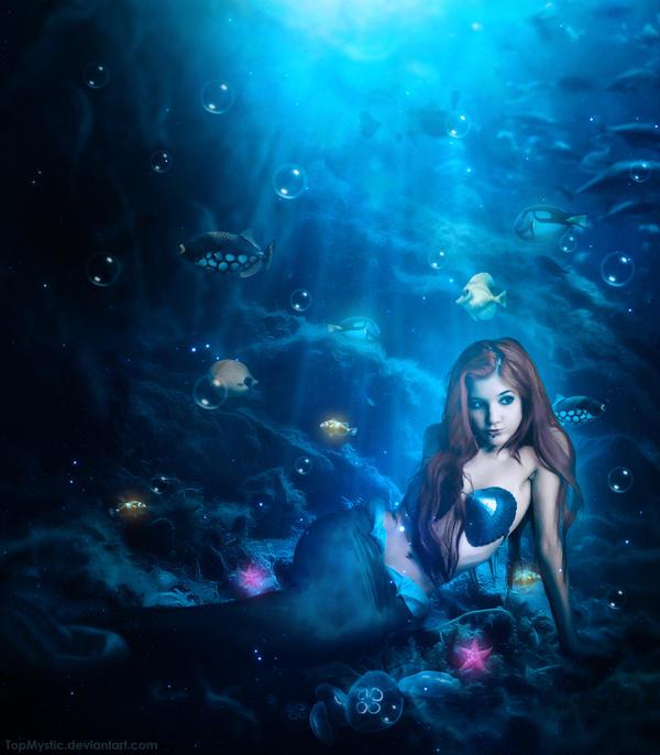 Little Mermaid by TopMystic