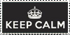 keep calm stamp by outstarwalker