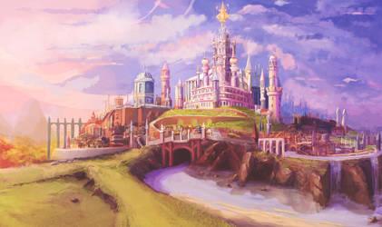 The Capital of Roddon by outstarwalker