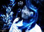 'Blue floral' - vordarain