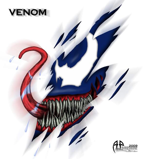 venom tattoo by alan47 on deviantart. Black Bedroom Furniture Sets. Home Design Ideas