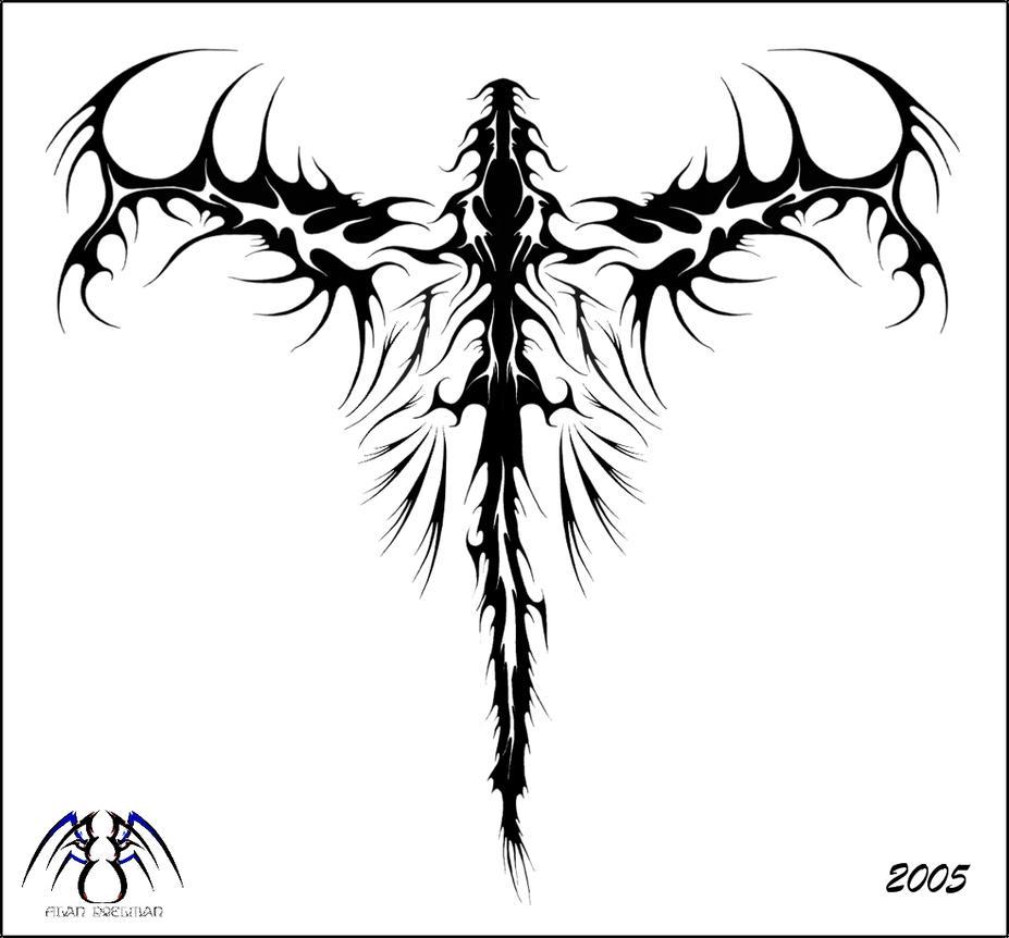 Tribal Dragon by alan47