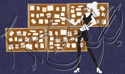 Paper cut StoryBoard by finialwing10
