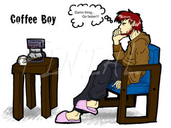Coffee Boy by finialwing10