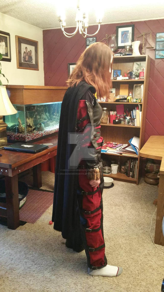 Black widow side by DragonswordRyn