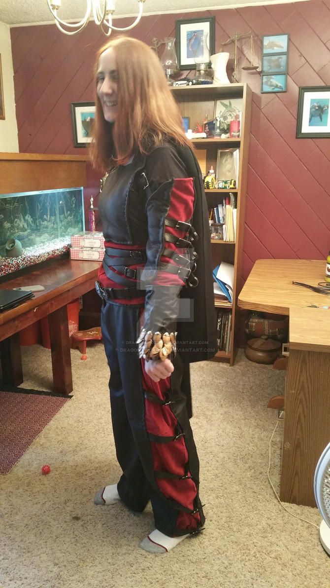 Black widow other side by DragonswordRyn