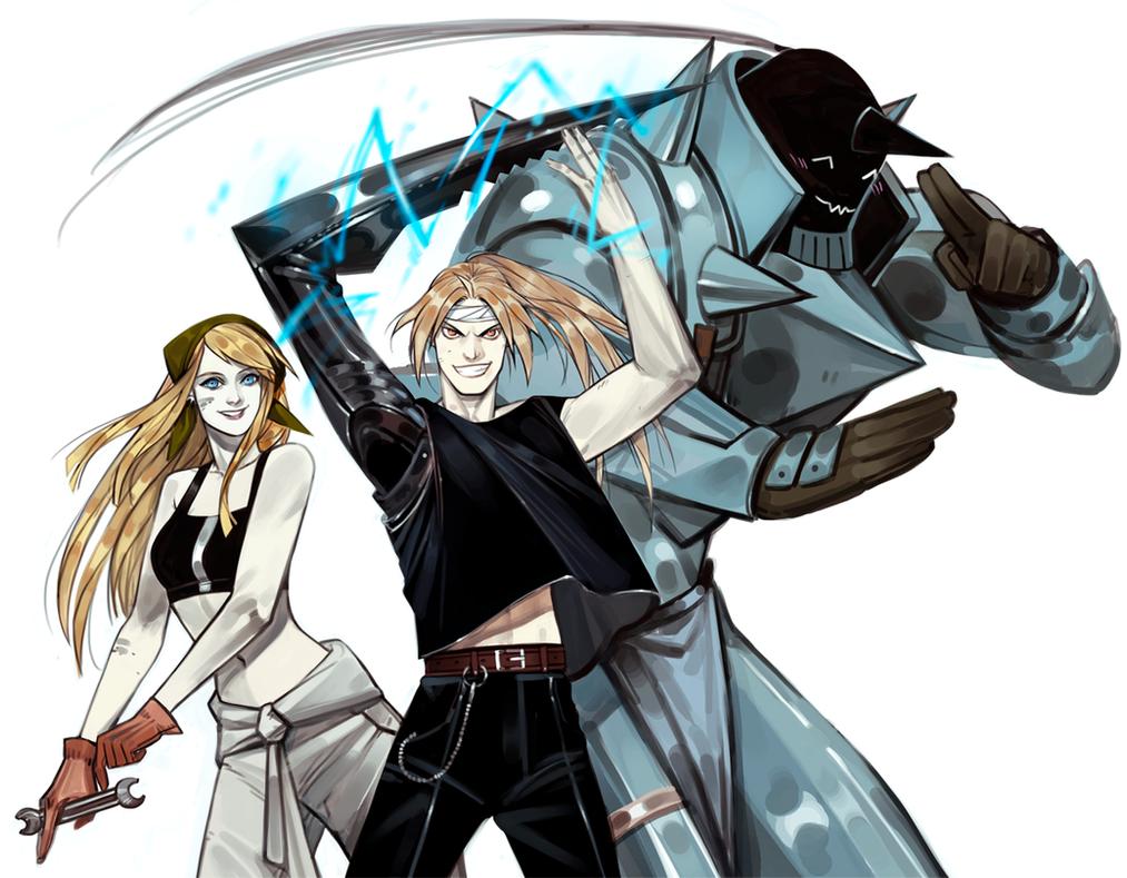 Fullmetal Alchemist Fanart by HeySpace