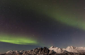 Aurora Background Stock by FjellvangPhotography