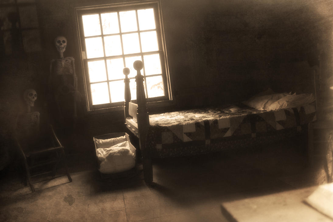 Haunted Cabin by EmilyHeatherly on DeviantArt