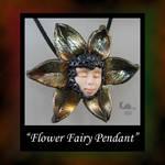 Flower Fairy Pendant