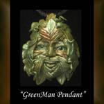 Pendant Green Man