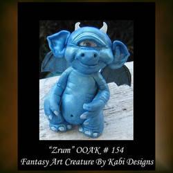 Zrum Fantasy Little Creature by KabiDesigns