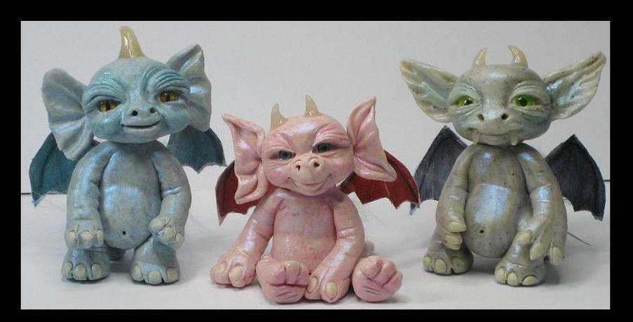Kroulies Littles Creatures by KabiDesigns