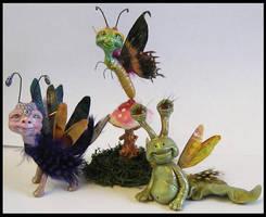 Kroulies Fantasy Littles Creatures Art OOAK by KabiDesigns
