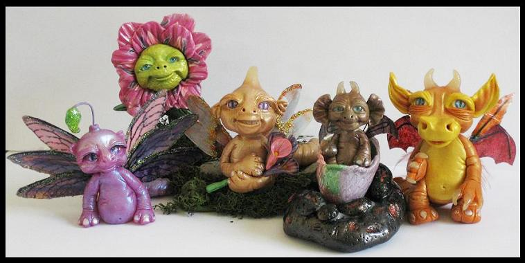 April 19 Kroulies Little Creatures by KabiDesigns