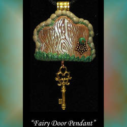 Fairy Door Pendant by KabiDesigns