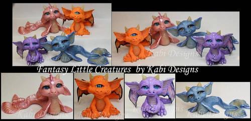 Handmade Sea Dragon and Dragons Fantasy creatures