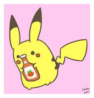 Random Pikachu by ieaka