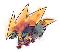 Mega Manectric by ieaka
