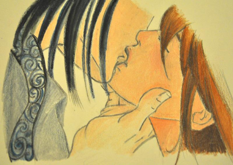 Haku and Chihiro by Khdd