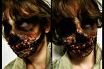 Zombie Makeup: Knocked My Teeth Out