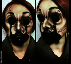 Makeup: The Dollmaker by Khdd