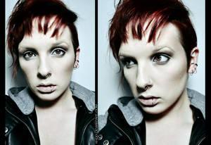 Makeup:  Lisbeth Salander (Rooney Mara)