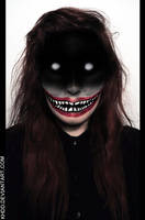 Makeup Detail: It Came from the Deep Web by Khdd