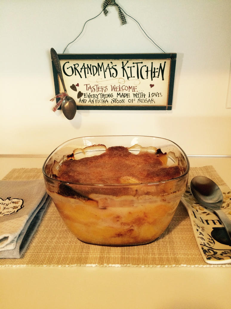 Peach Cobbler by Bee Thomas by JosephThomas