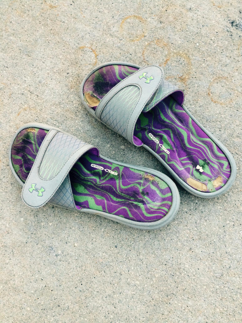 Underarmour Sandals by JosephThomas