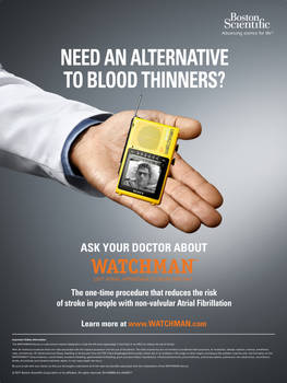 WATCHMAN Patient Poster Cling