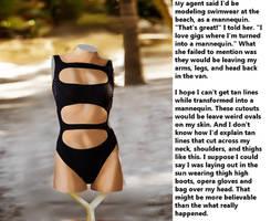 Swimwear At The Beach by magicshoppe