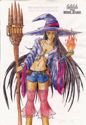 Witch (Maybe the main character)