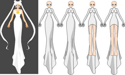Queen Serenity dress edit