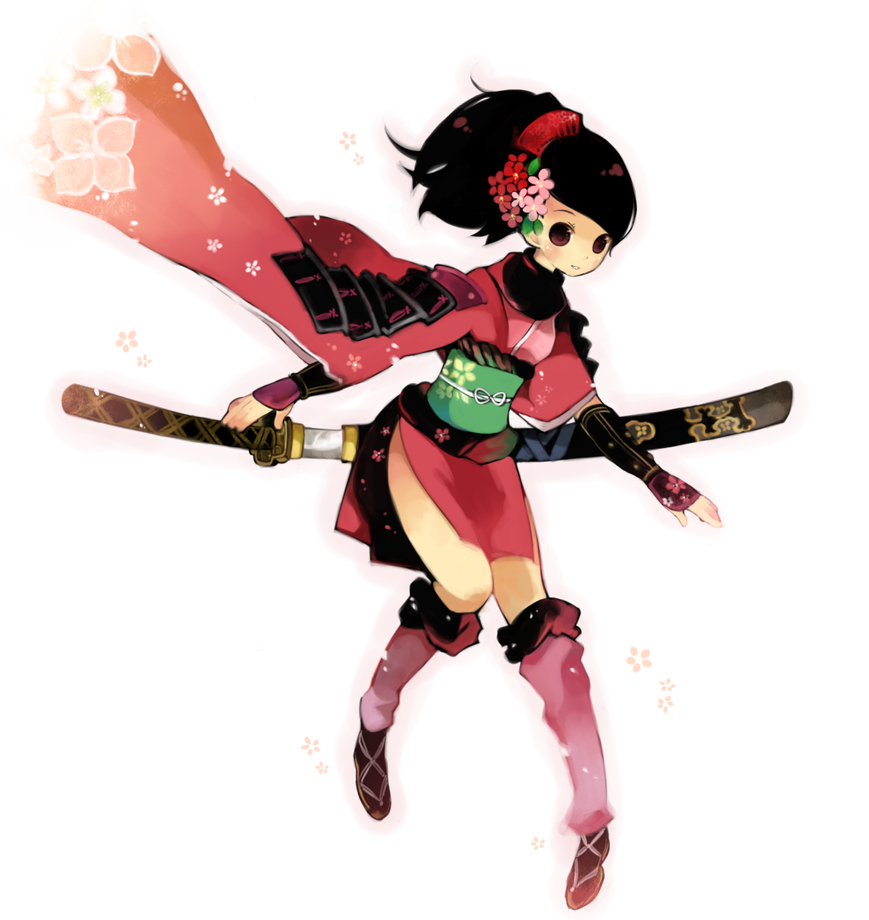 Momohime Pose 3 By UnholyChaos On DeviantArt