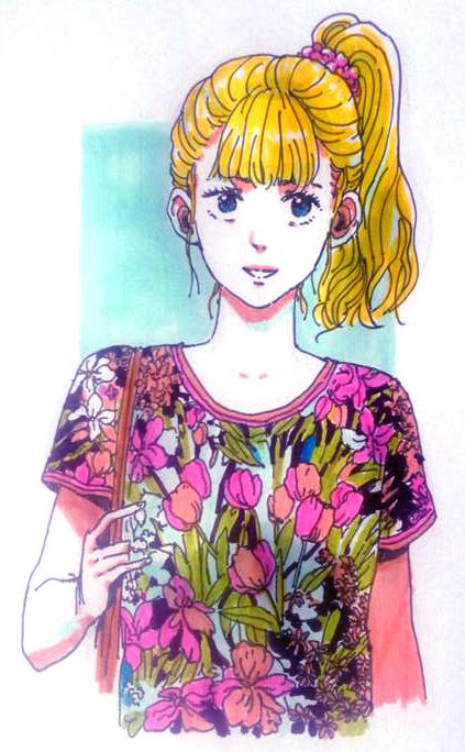 Tulips t-shirt by Sourya