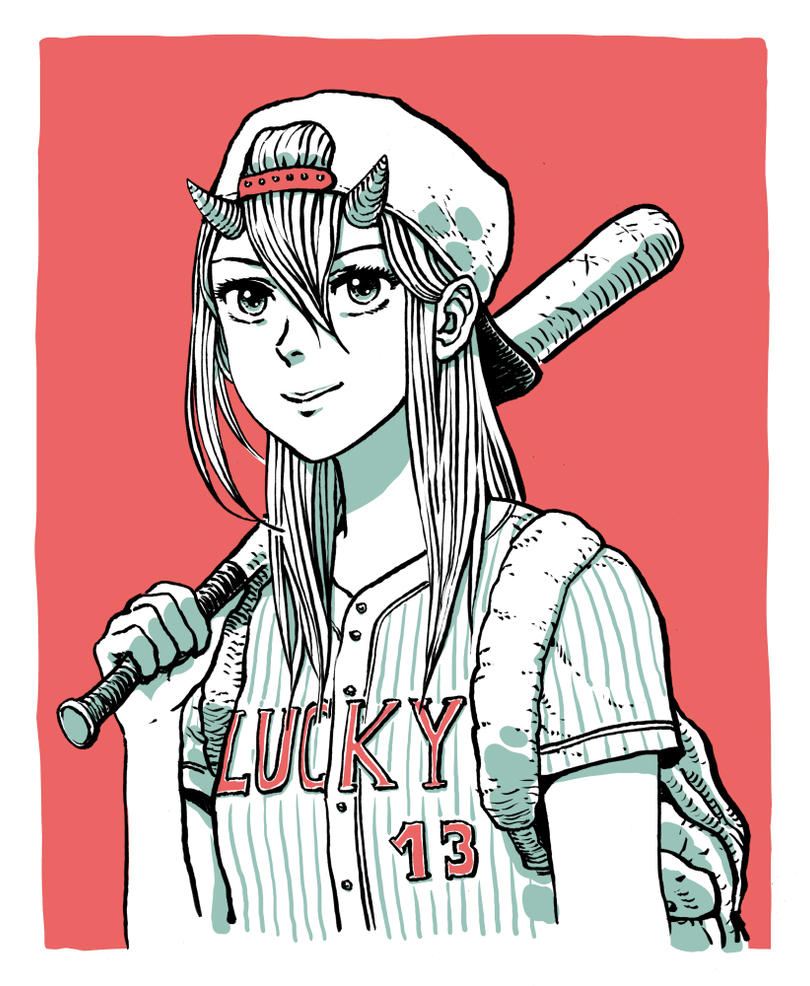 Lucky 13 by Sourya