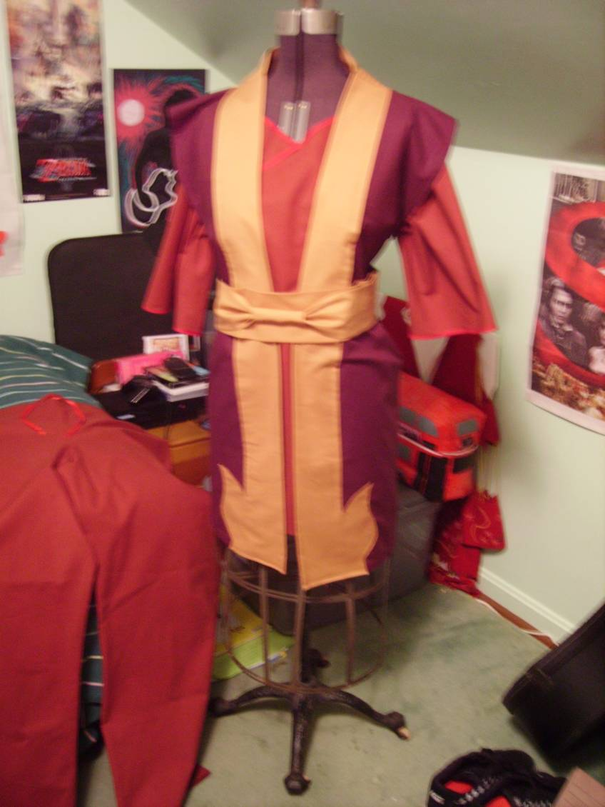 Zuko cosplay on Dress Form by GuiltyWithGlee on DeviantArt