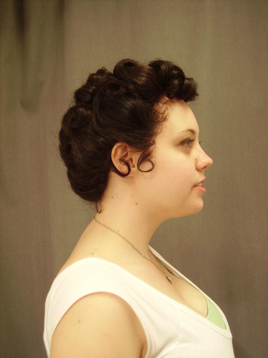 1950s updo 2 by GuiltyWithGlee
